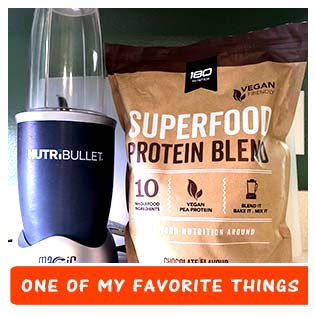 180 Nutrition Nutribullet Favorite Things