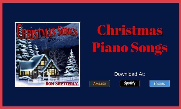 Christmas Carols Played On The Piano