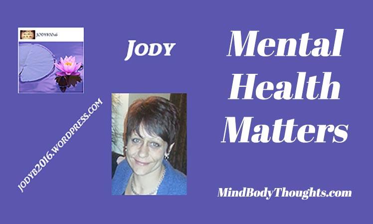 Jody Writes Mental Health Matters