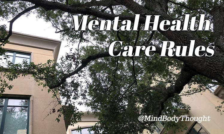Mental Health Care Rules